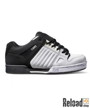 Scarpe DVS Celsius black white nubuck - Reload Shop